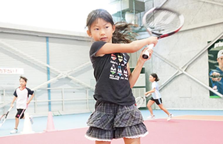 テニスの向上